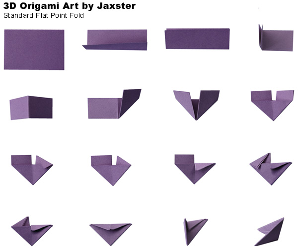 3d Origami Mini Dragon Tutorial