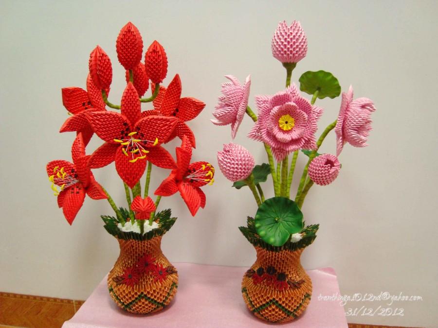 flowers.jpg… | Album | Nga | 3D Origami Art - photo#11