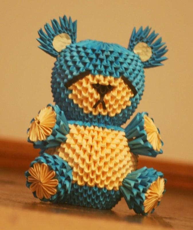 3d Origami Bear 5338955