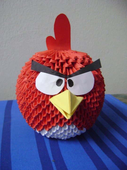 Origami Angry Birds Diagrams http://3dorigamiart.com/members/meshell0227/album/picture/1323/