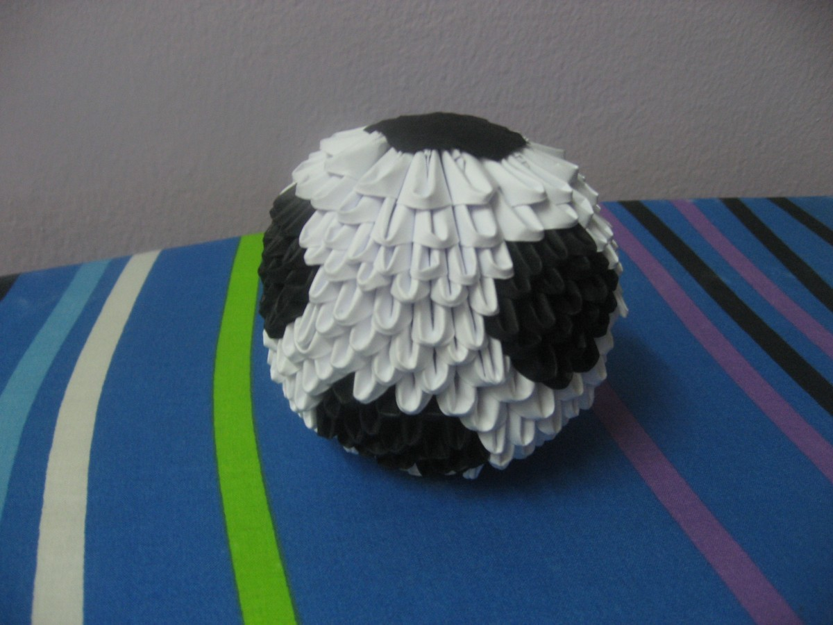 football� album meshell 3d origami art