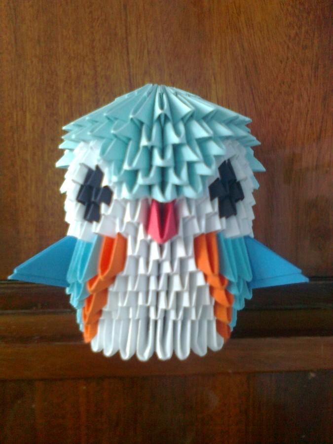 Origami Bird Album Lutzu 3d Art
