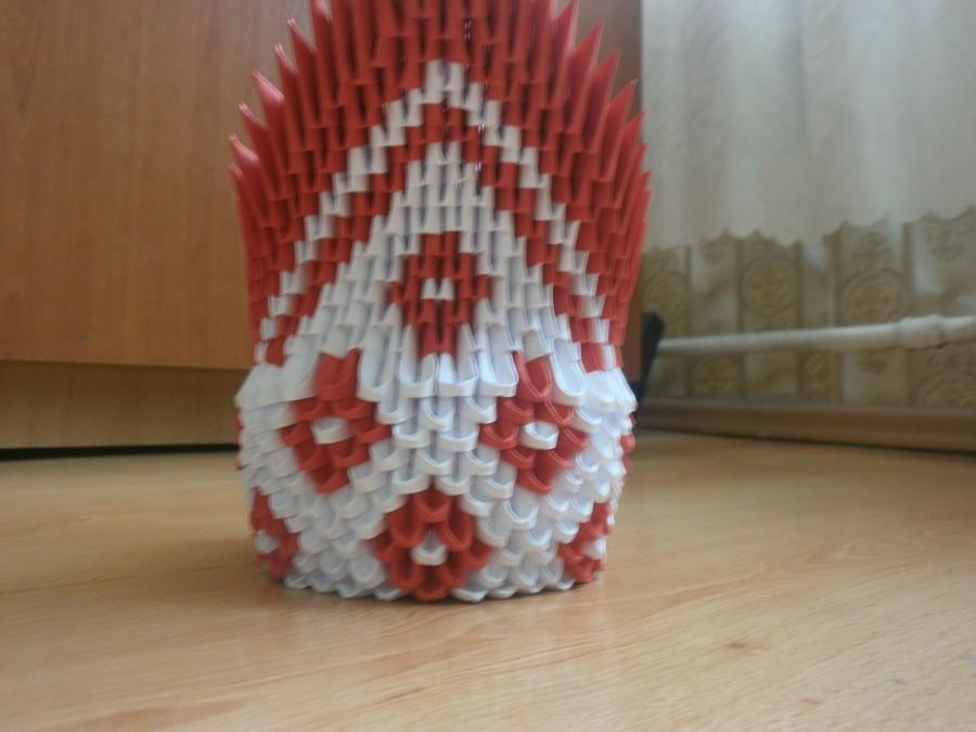 diamond pattern swan� album justas 3d origami art