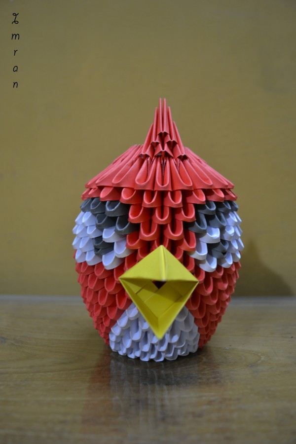 3d modular origami dragon instructions
