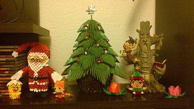 Arbol de navidad pap album susana gutierrez mu oz - Arbol de navidad origami ...