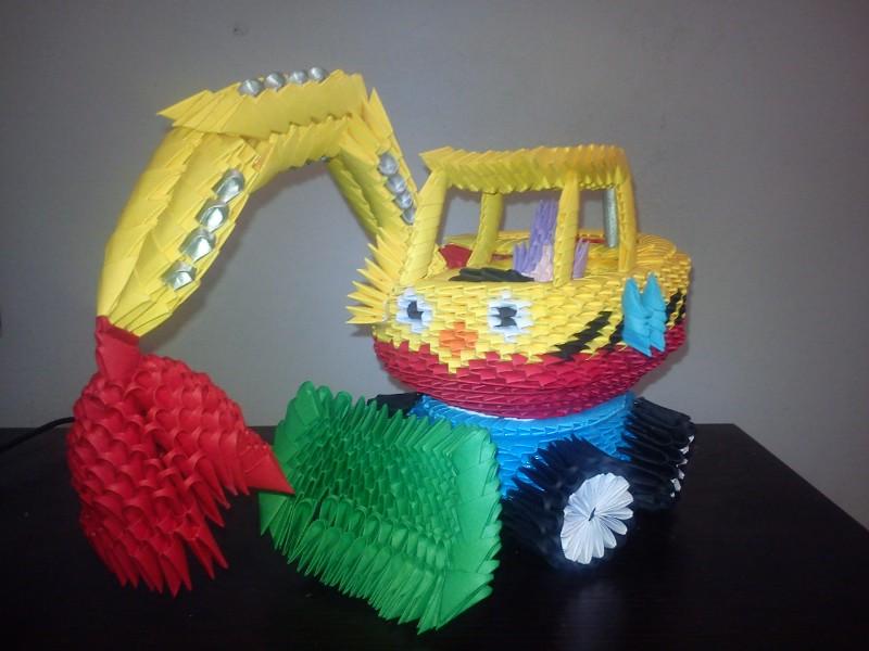 Мастер класс поделки модульное оригами