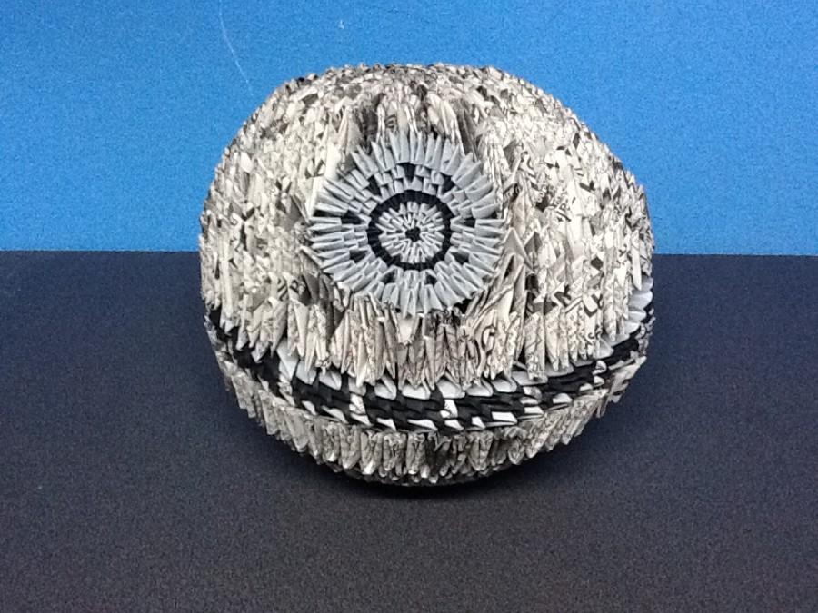 death star box� album greatvoid 3d origami art