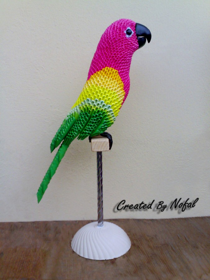 origami macaw parrot 28 images origami bird tutorial